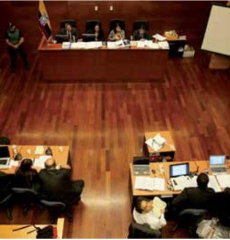 Comentarios sobre el proyecto de reformas del Código Orgánico General de Procesos